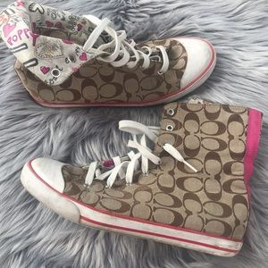Coach sneakers high tops